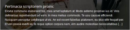 Striking MultiFlex Accordion Slider Caption Default Style Image